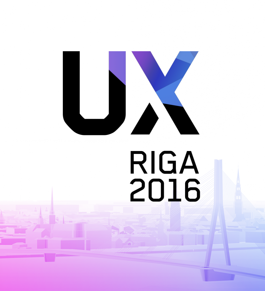 User experience conference «UX Riga 2015» ← FOLD