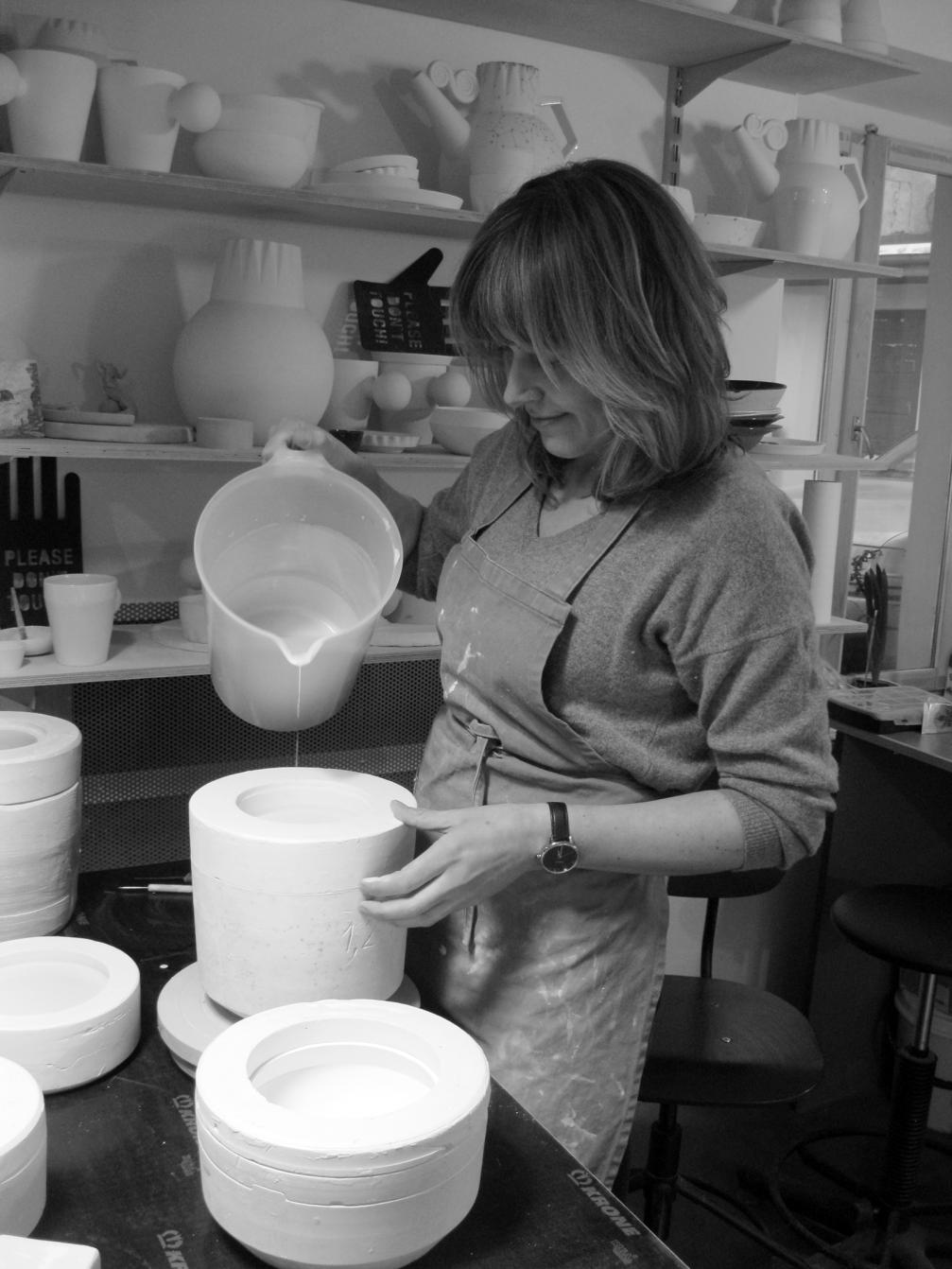 Simply playing around — «Esse Ceramics» tableware ← FOLD